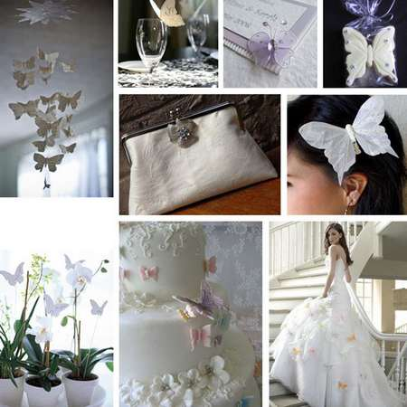 Decoration mariage papillons decos mariage theme papillons