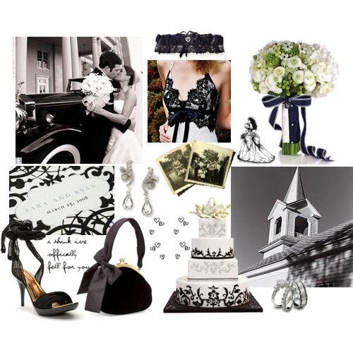 d coration de mariage noir et blanc d coration mariage tendance. Black Bedroom Furniture Sets. Home Design Ideas