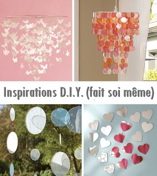 D i y do it yourself lustres a faire soi meme d coration mariage tendance - Deco maison a faire soi meme ...