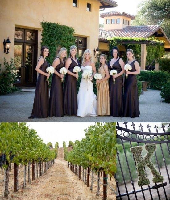 Mariage thème vigne: chic dans un vignoble! – Décoration Mariage ...