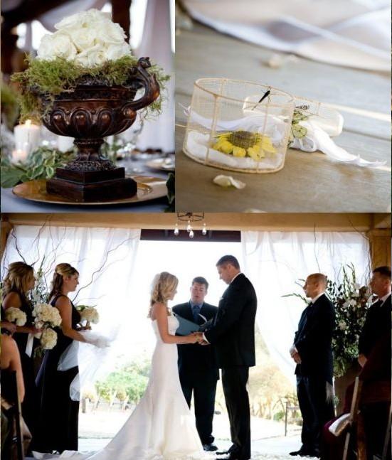 Mariage thème vigne: chic dans un vignoble!  Décoration Mariage ...