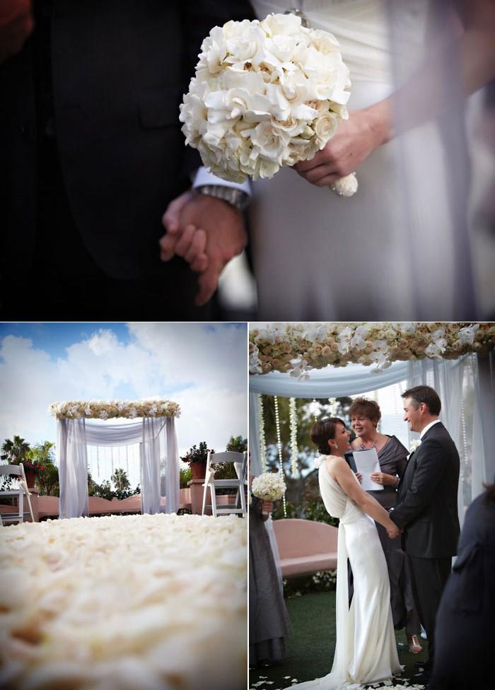 ... de mariage thème blanc et diamants  Décoration Mariage Tendance