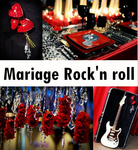 d coration de mariage rock n roll d coration mariage tendance. Black Bedroom Furniture Sets. Home Design Ideas