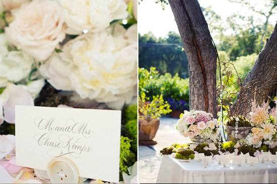 D Coration De Mariage Romantique Jardin Chic D Coration Mariage Tendance