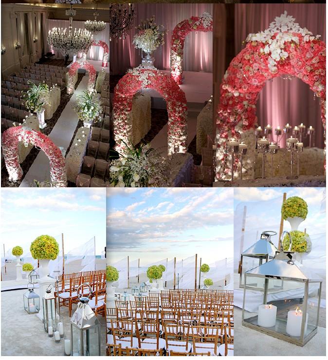 décoration entree mariage