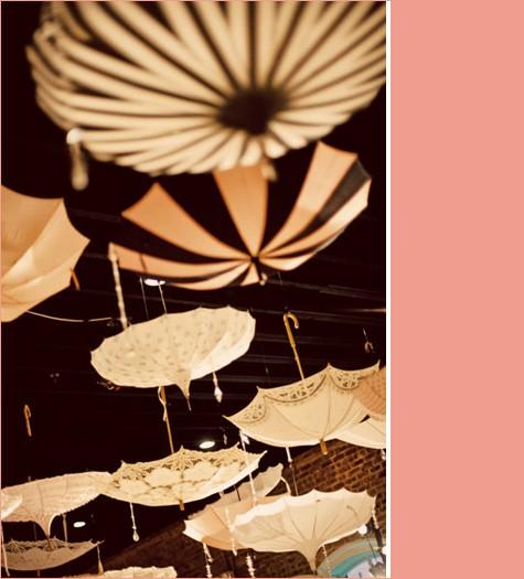 D coration de plafond originale avec des ombrelles d coration mariage tendance - Decoration des plafonds ...