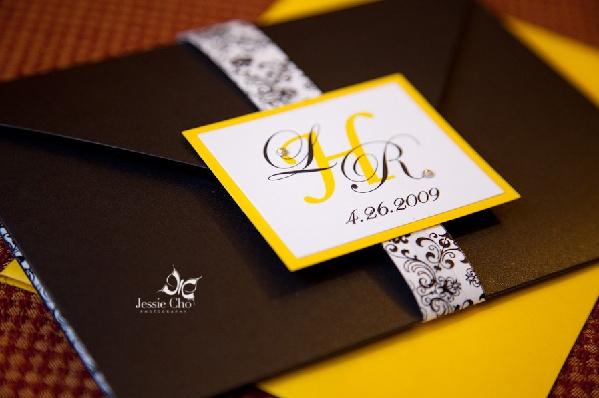 ... un vrai mariage jaune et noir – Décoration Mariage Tendance