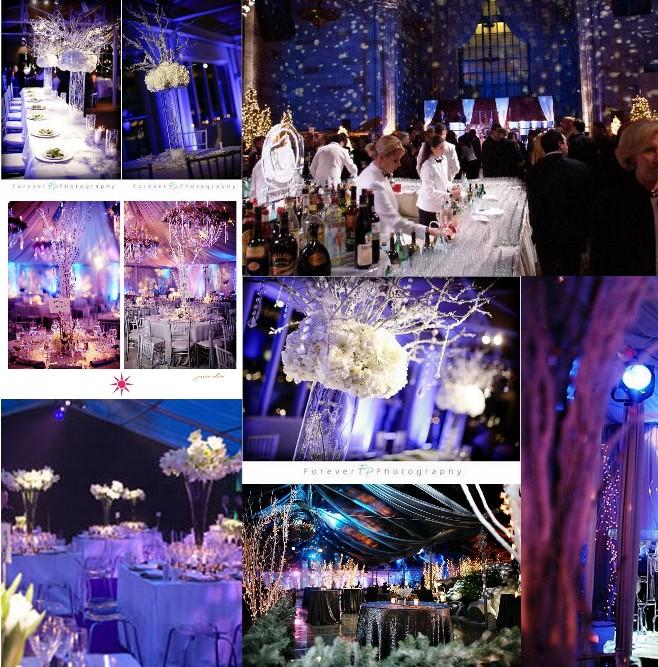 ... merveilleuse illuminée et brillante – Décoration Mariage Tendance