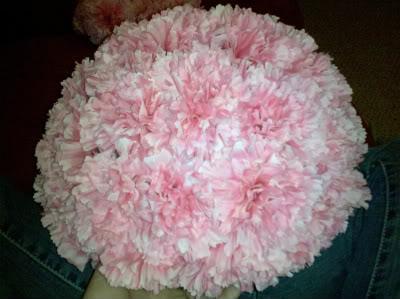 Boules de fleurs la r aliser pas pas d coration mariage tendance - Fleur a faire soi meme ...