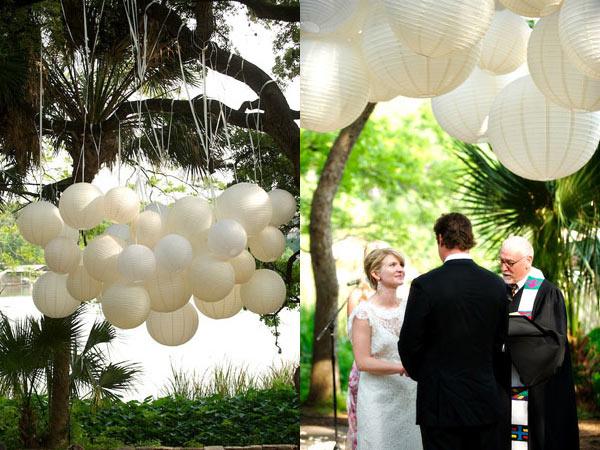 jolies lanternes pour ceremonie de mariage d coration mariage tendance