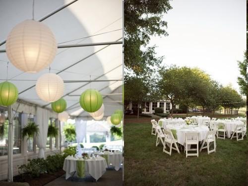 10 decorations de salle de mariage vertes – Décoration Mariage ...