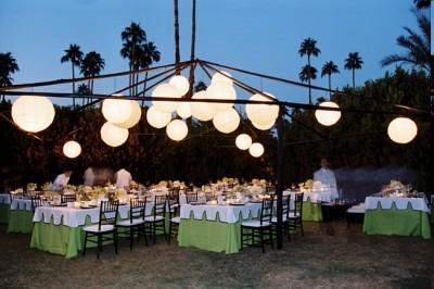 10 decorations de salle de mariage vertes – Décoration Mariage Tendance