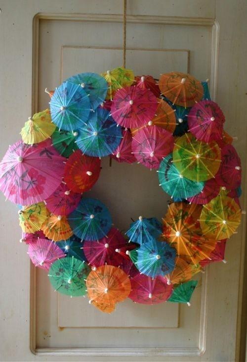 couronne-parasols-en-papier