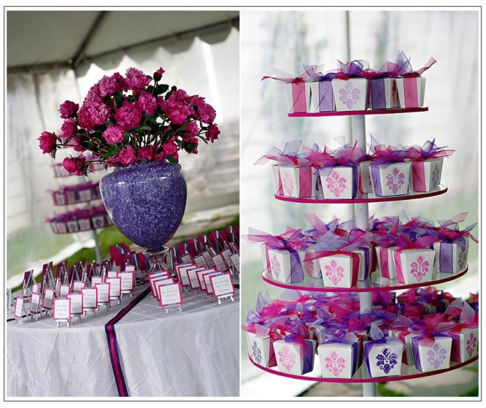 deco de mariage violette d coration mariage tendance. Black Bedroom Furniture Sets. Home Design Ideas