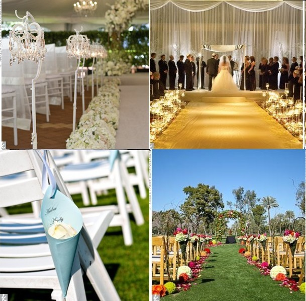 12 d corations d all e d glise chics d coration mariage tendance - Decoration eglise mariage ...