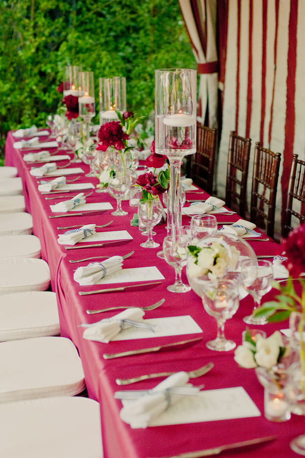 5 decos de table de mariage modernes et tendances for Decoration de table idees