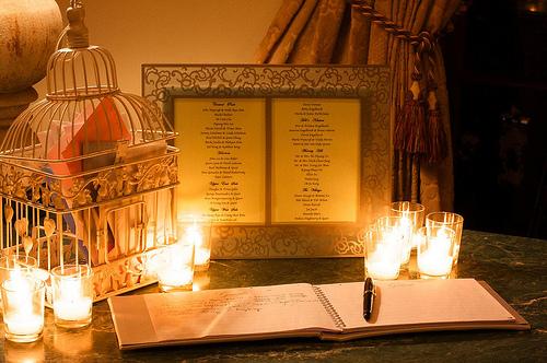 decorations de mariage avec des bougies d coration. Black Bedroom Furniture Sets. Home Design Ideas