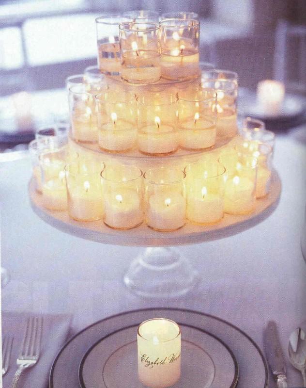 Decorations De Mariage Avec Des Bougies D Coration