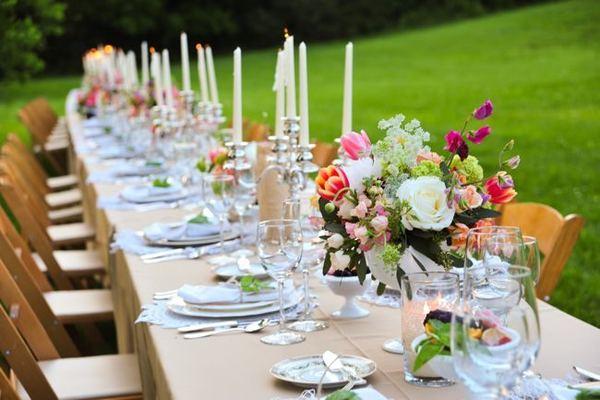 20 photos de decorations de mariage moderne - Deco bougie mariage ...