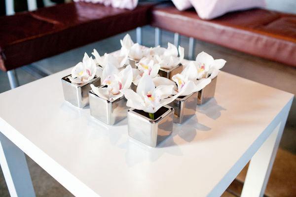 2 decoration de mariage rose et argent d coration - Decoration de table mariage rose et gris ...