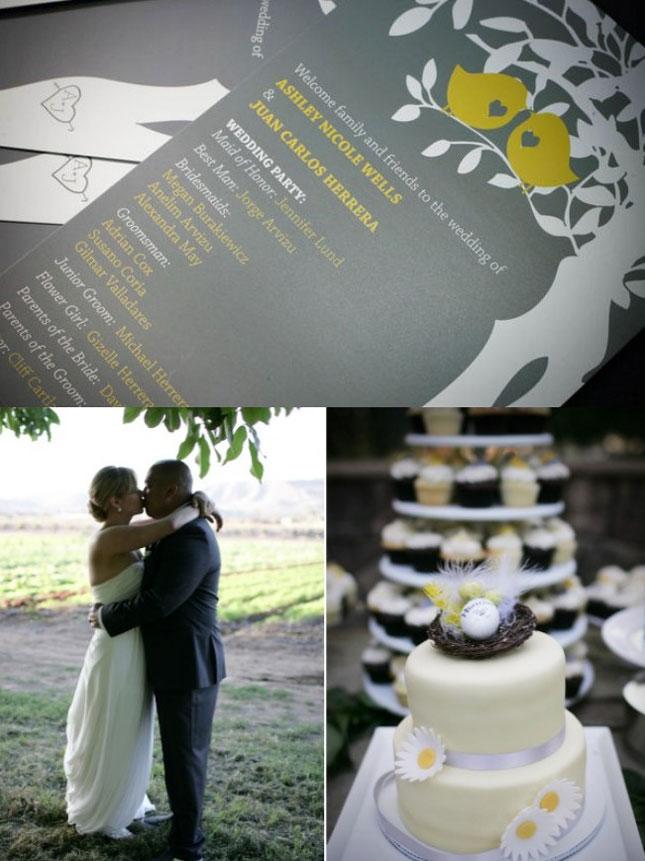 Decoration de mariage jaune et noire – Décoration Mariage Tendance