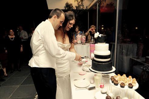 decoration de mariage rose et argent