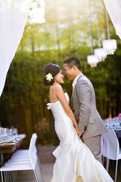 photo de mariage moderne