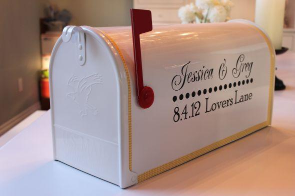 la boite aux lettres us dans toute sa splendeur d coration mariage tendance. Black Bedroom Furniture Sets. Home Design Ideas