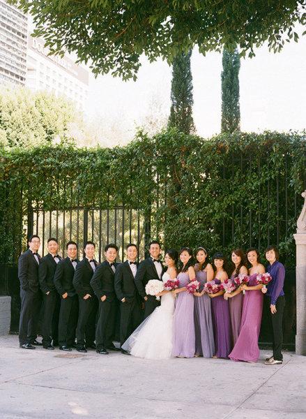 dégradé couleur mariage