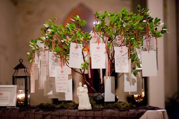 10 livres d or diff rents d coration mariage tendance - Arbre decoratif pour mariage ...