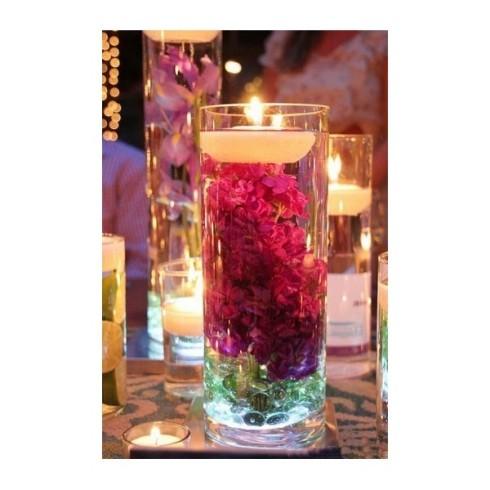 Idee deco d etable mariage - Decoration avec des bougies ...