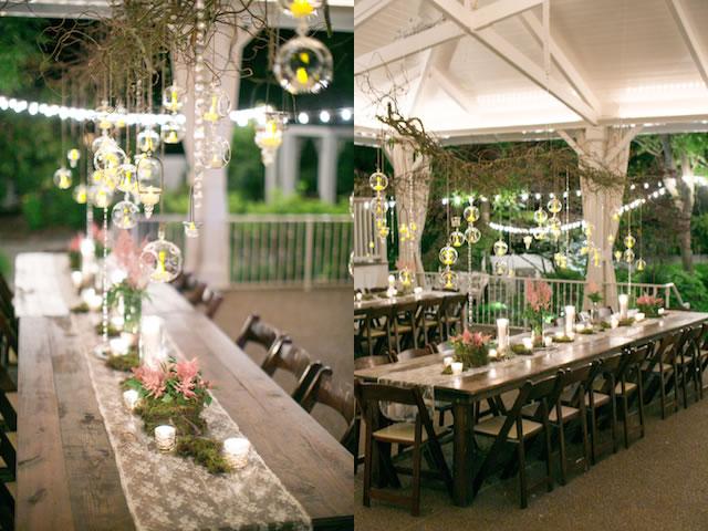 d coration de mariage champ tre d coration mariage tendance On decoration fenetre mariage