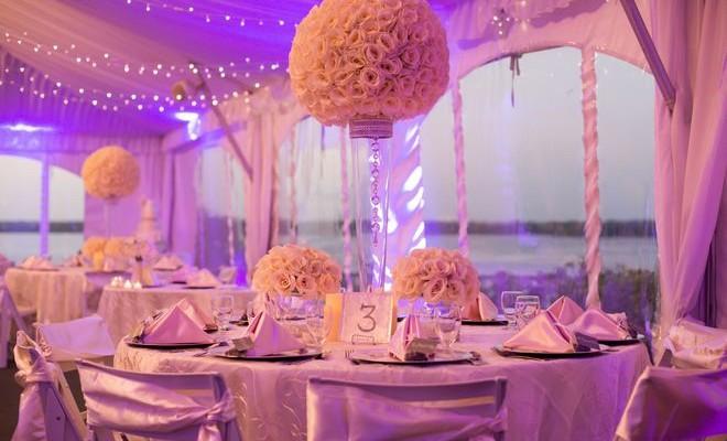 grosses boules de fleurs des boules de roses artificielles pour centres de table ou. Black Bedroom Furniture Sets. Home Design Ideas