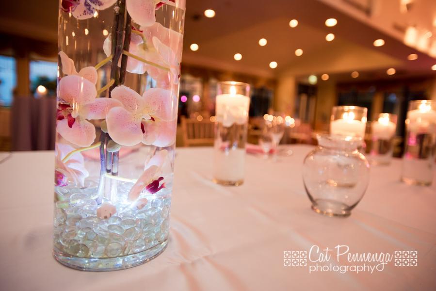 Leds tanches de couleur pour vases d coration mariage for Centre de table lumineux