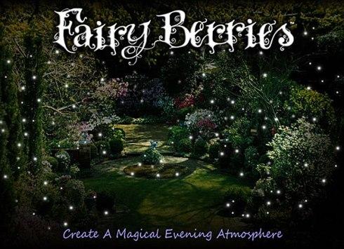 fairy berries ces leds lumineuses originales ctanches pour jardin centres de table et d cors. Black Bedroom Furniture Sets. Home Design Ideas