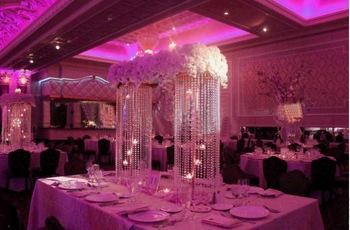Guirlandes De Faux Diamants En Deco De Table Decoration Mariage Tendance