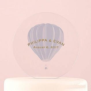 decor-gateau-acrylique-montgolfiere