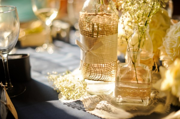 bouteilles-verre-ruban-jute