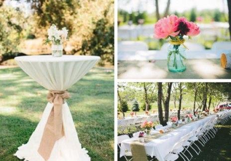 Comment cr er une decoration de mariage champetre originale d coration mariage tendance - Decoration eglise mariage champetre ...