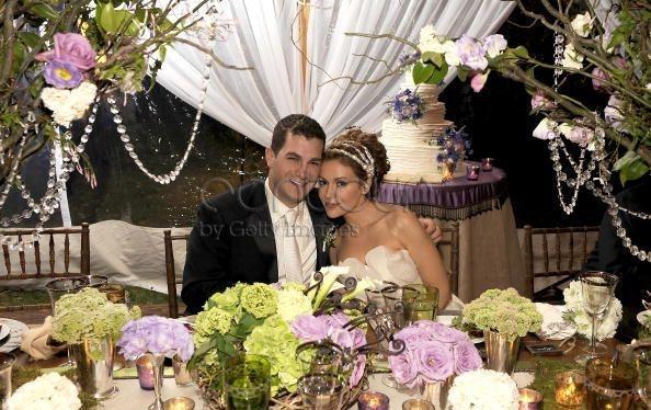 mariage-alyssa-milano-mauve-vert-anis