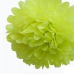 pompon-en-papier-30cm-vert-anis