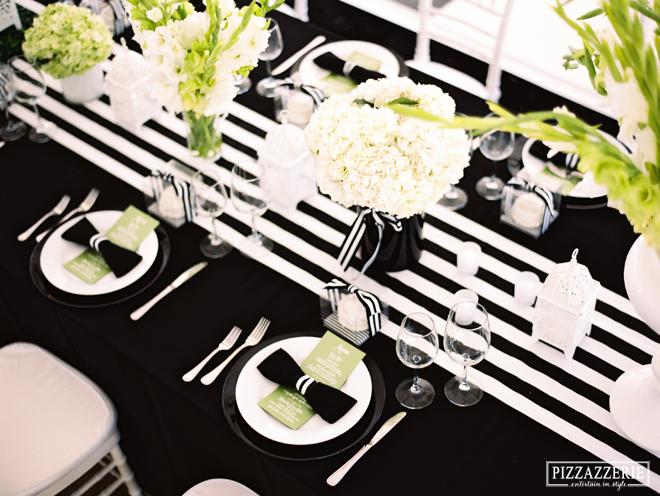 3 fa ons de cr er une d co de mariage noire d coration. Black Bedroom Furniture Sets. Home Design Ideas