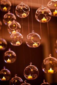 bougies suspendues