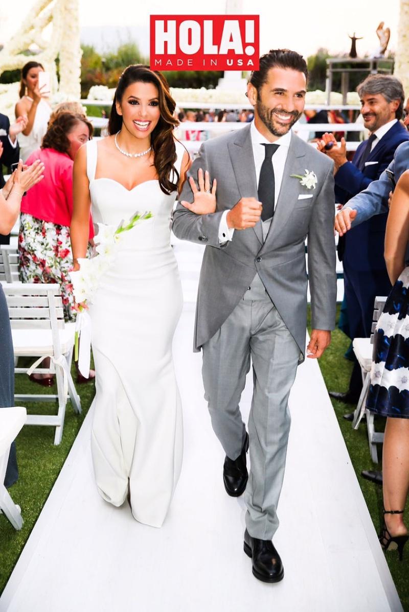 Mariage d'Eva Longoria et José Antonio Baston