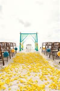 mariage-plage-jaune-bleu