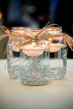rustic-mason-jars-float-wedding-centerpiece-ideas