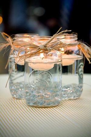 rustic-mason-jars-float-wedding-centerpiece-ideas