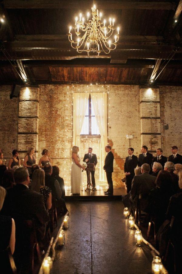 beautiful-and-cozy-winter-loft-wedding-ceremony