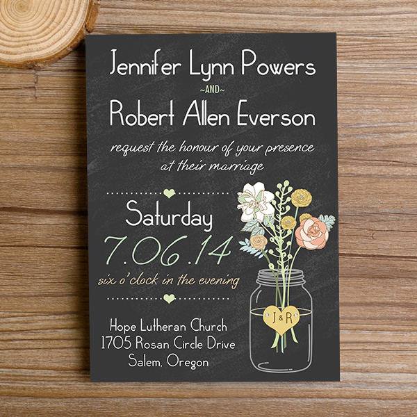 boho-mason-jars-rustic-floral-chalkboard-wedding-invitations-EWI3441