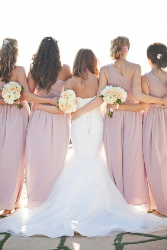 great-wedding-shot-of-bride-and-bridesmaids-arm-link-love